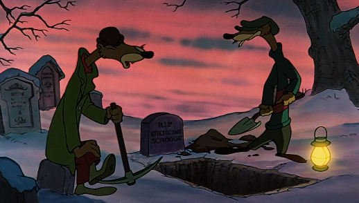 Scrooge Mcduck Christmas Carol.A Chradvent Carolendar 10 Mickey S Christmas Carol 1983