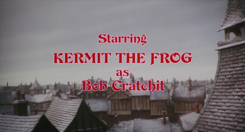 this is one of those cast characters as other characters deal like mickey mouse or rich little the main muppet guy kermit is bob - Muppets Christmas Carol Youtube